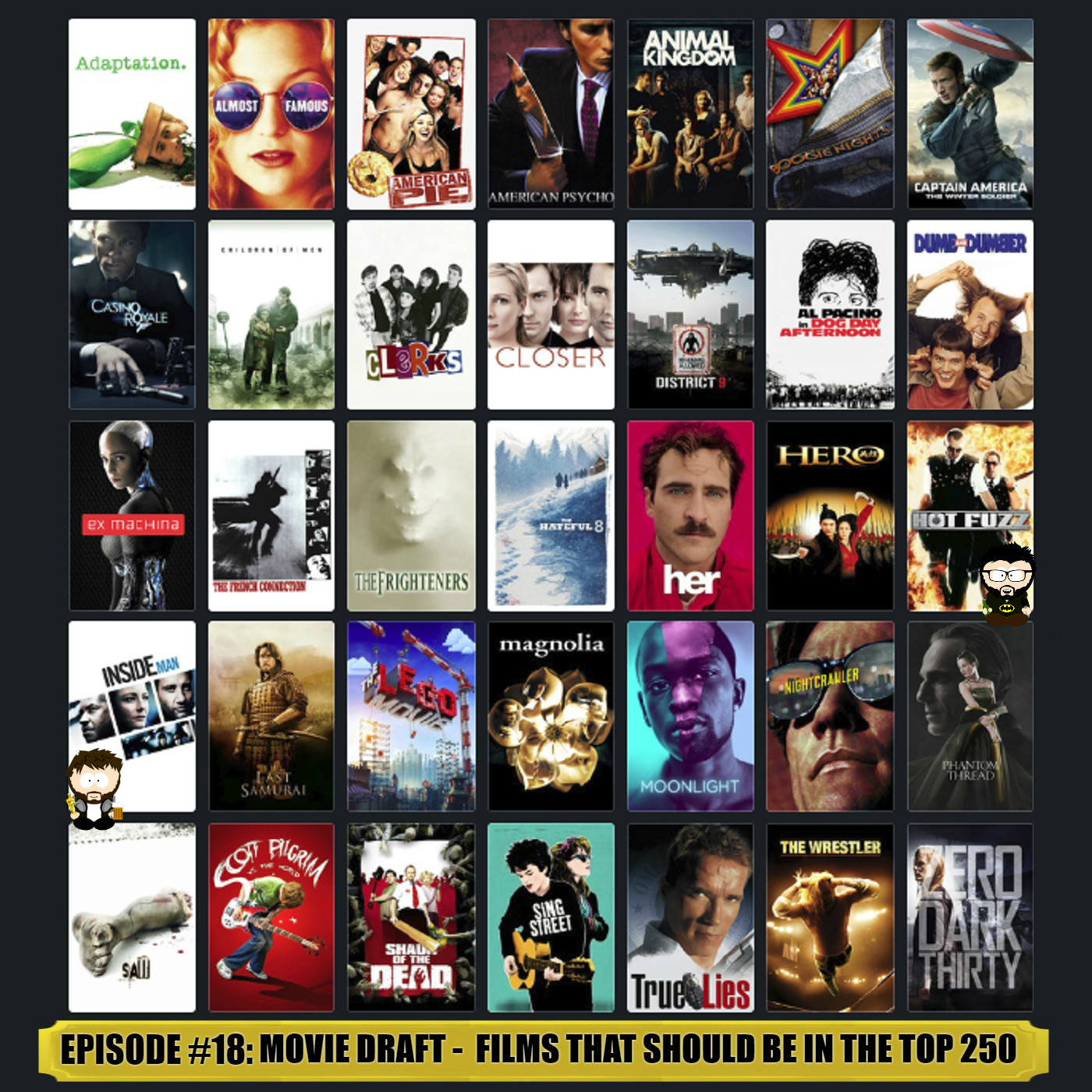 18 - Mega Movie Draft: Films That Should Be In The Top 250 - Whooshkaa
