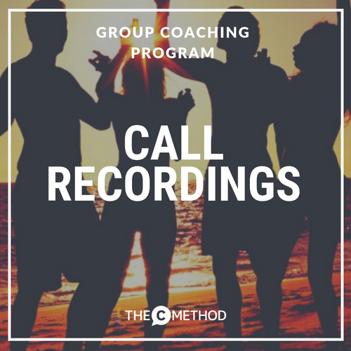 Oct 2018 Group Coaching Call Recordings