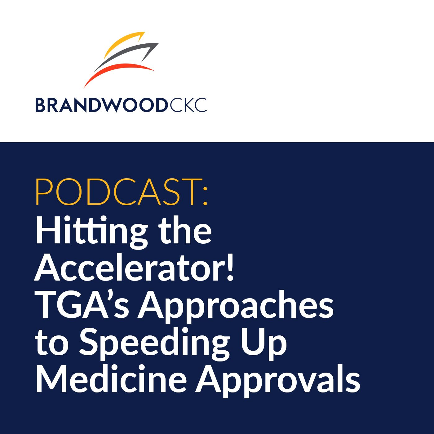 Hitting the Accelerator! TGA's Approaches to Speeding Up Medicine Approvals