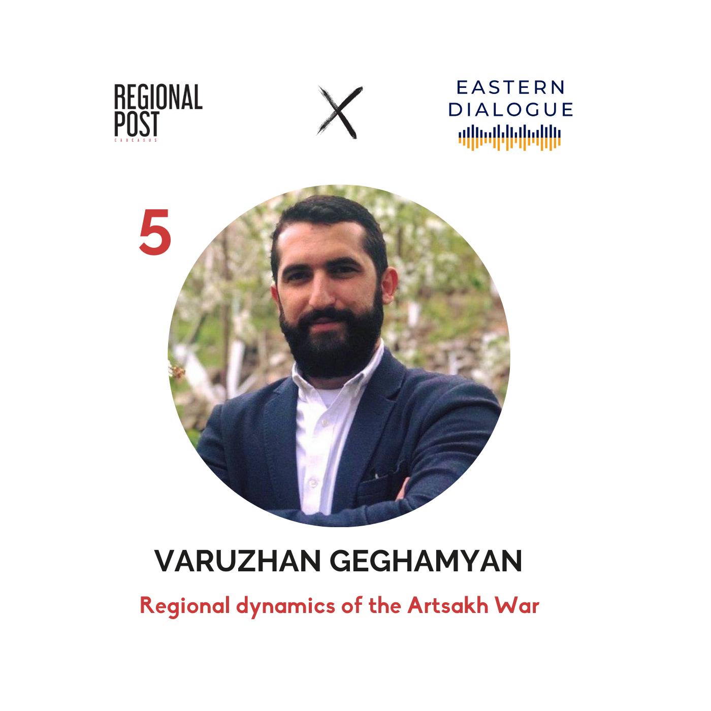 [հայերեն] Varuzhan Geghamyan - Regional Dynamics of the Artsakh War