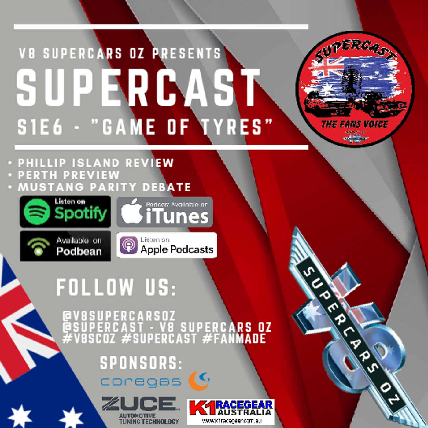 SuperCast - S1E6 - Game Of Tyres - Whooshkaa